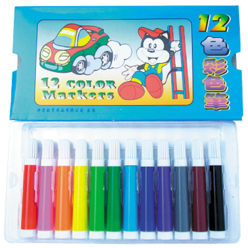 [編號30102] 12色彩色筆