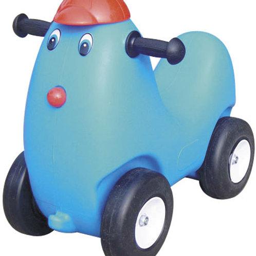 小雞滑滑車