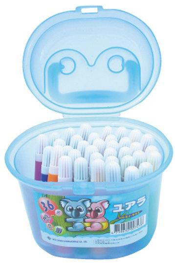 36色盒裝彩色筆