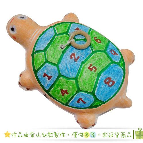 彩繪拉線烏龜