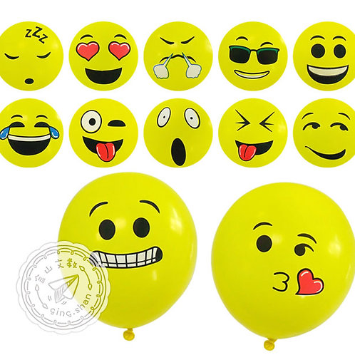 表情氣球100入