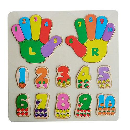雙手數字板