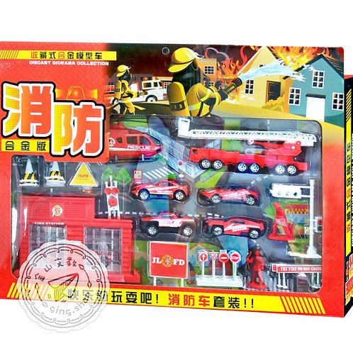 [編號: 50900-1 ]消防車套裝
