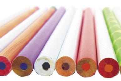 台製(粉紅)色鉛筆12入
