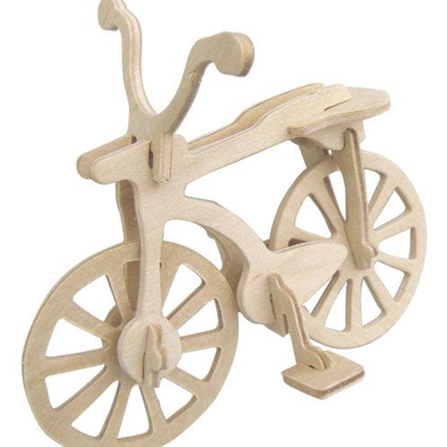 DIY木頭腳踏車