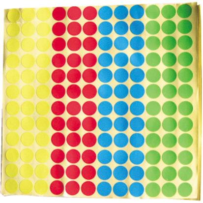 [編號: 20403 ] 1.5公分圓形貼紙