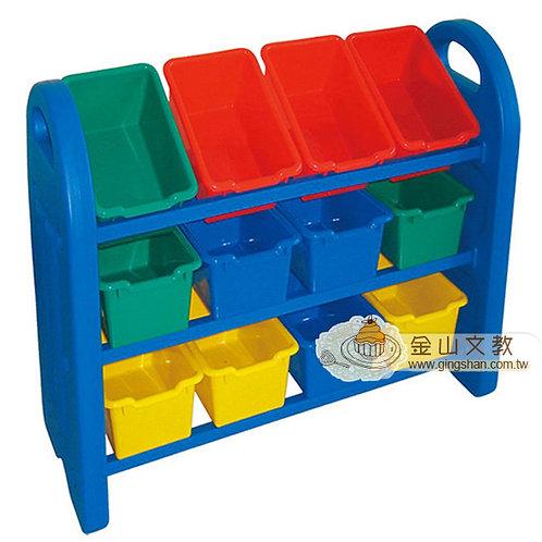 積木收納櫃(12格)