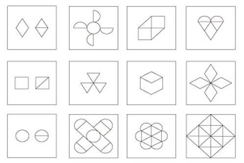六形十色圖卡