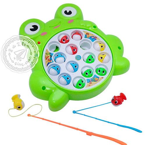 電動青蛙釣魚盤