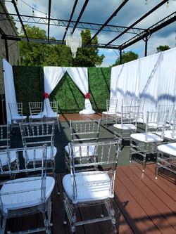 Deck Wedding