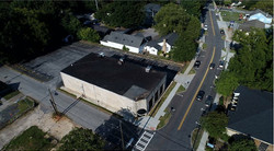 Aerial View of Building & Lot