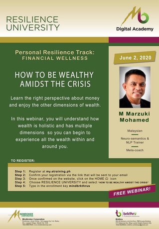 How to be Wealthy Amidst the Crisis