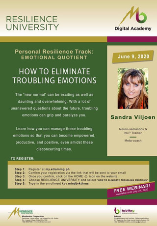 How to Eliminate Troubling Emotions