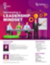Harnessing a Leadership MIndset Poster-0