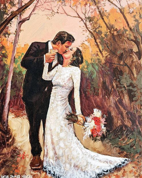 Custom Wedding Portrait / Scene (studio painting from your photography)