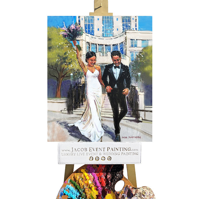 Jacob Event Painting_Hispanic Wedding Ce