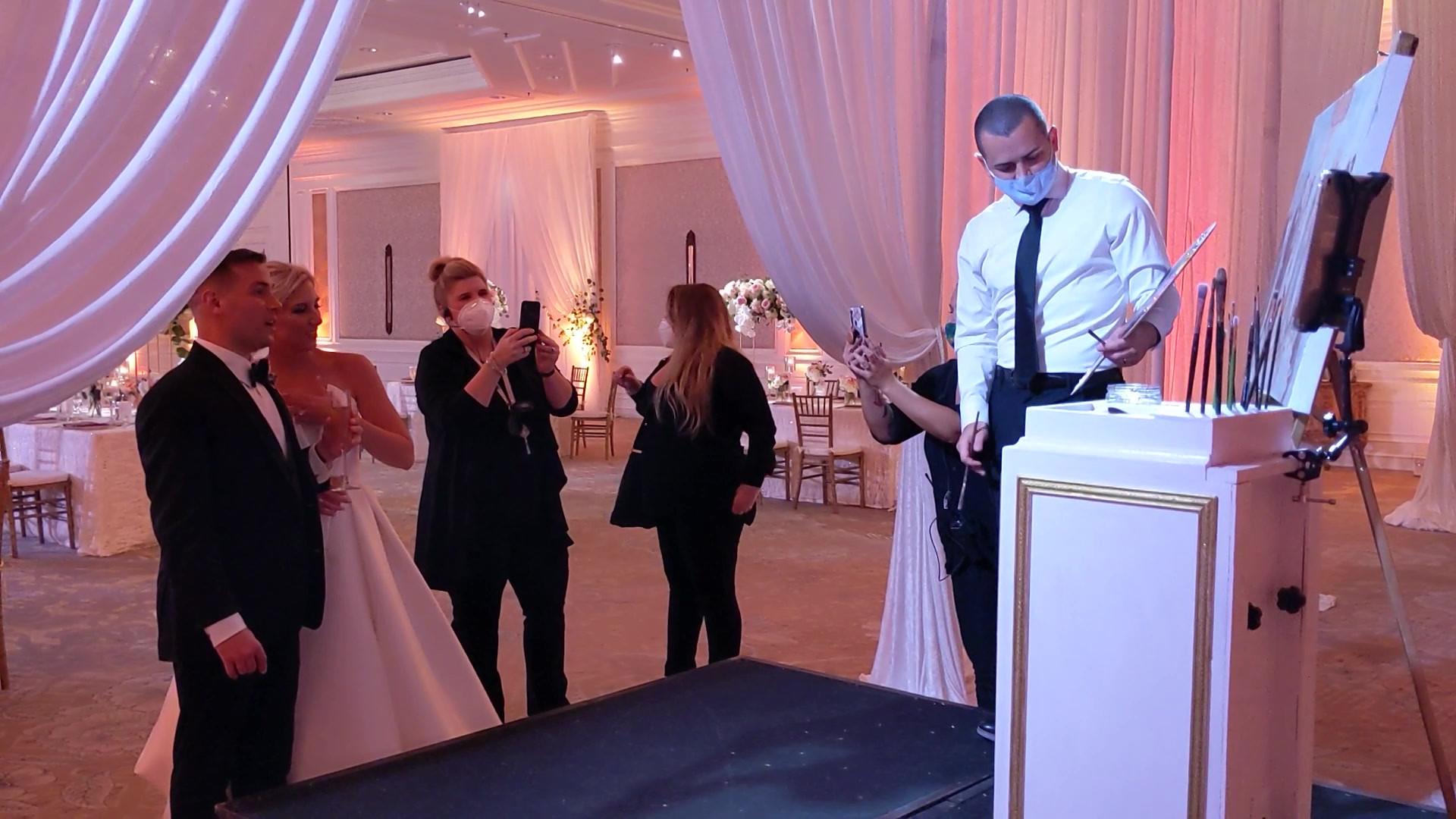 Jacob Event Painting Live Wedding Painti