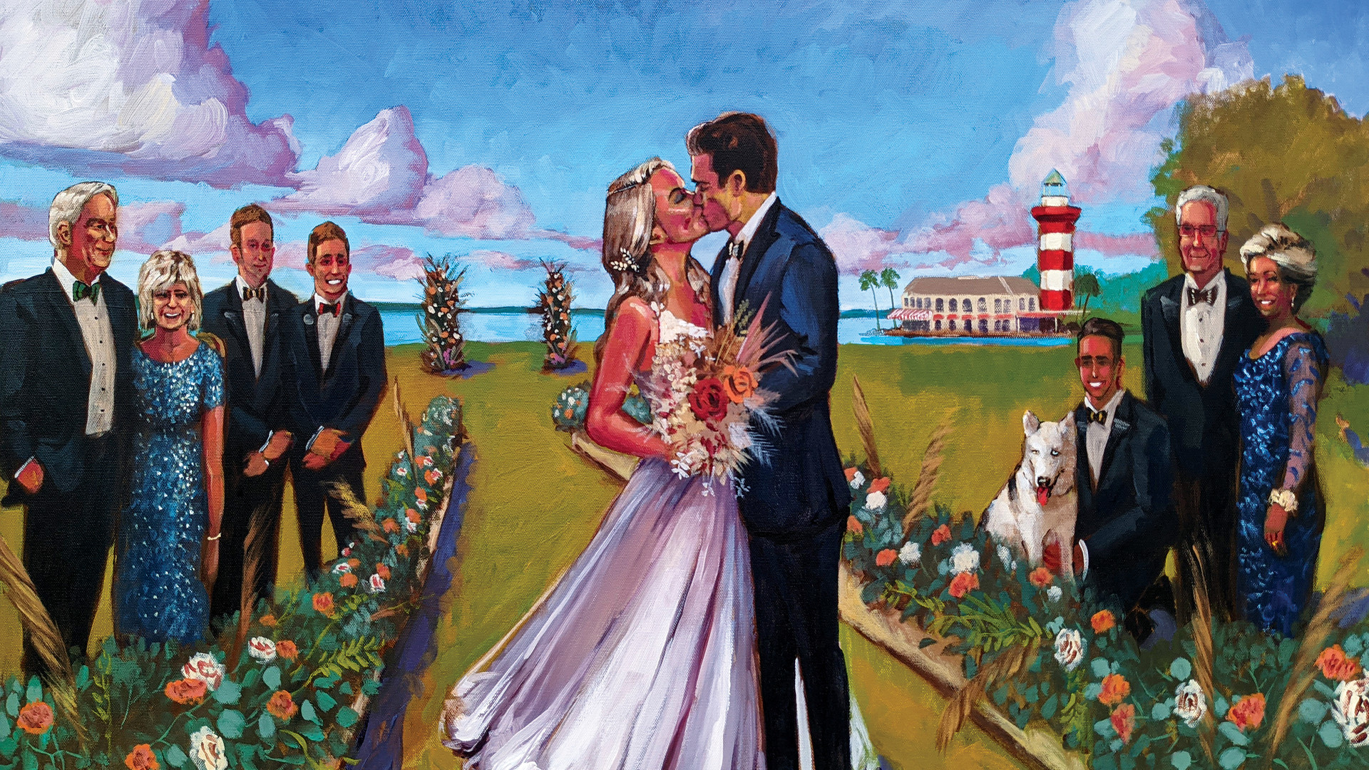 Jacob Event Painting_live wedding painti