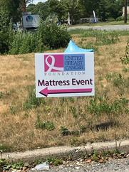 UBCF Mattress Give Away Event
