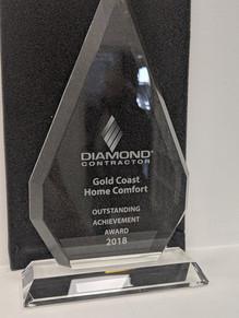 The 2018 Outstanding Acheivement Award.