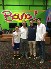 The Gold Coast Team at Bounce suppoting the Nassau/Suffolk Autism Society of America during Autism Awareness Month 2018.