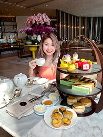 The Lounge at Four Seasons, Mid-Autumn Festival Mooncake Afternoon Tea