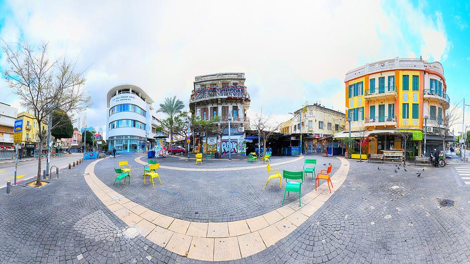 Magen David Square - Tel Aviv