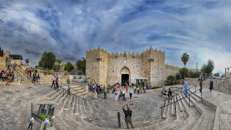 Damascus Gate Wide view