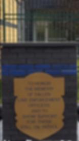 Law Enforcement Memorial Concrete Cap