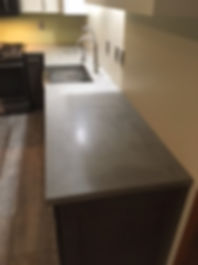 Natural Grey Concrete Countertop