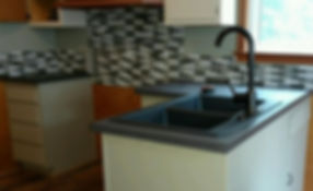 Farm House Concrete Countertops