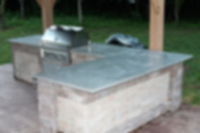 Outdoor AGT Concrete Kitchen