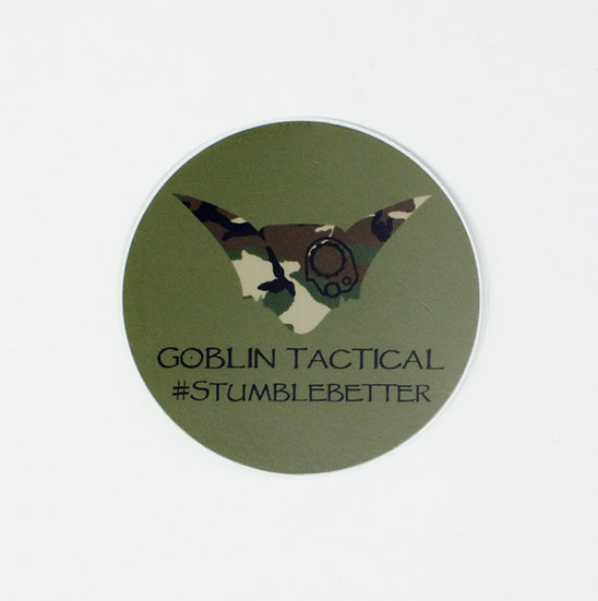 Goblin Tactical Sticker