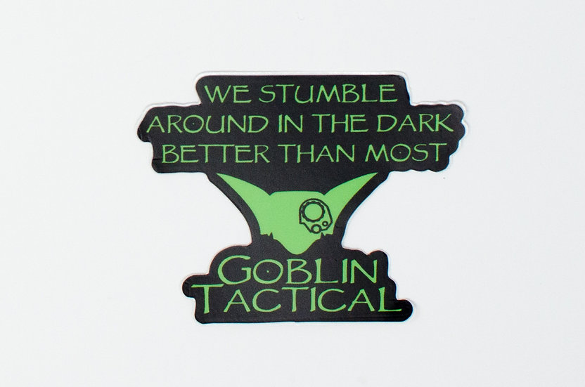 We Stumble Sticker