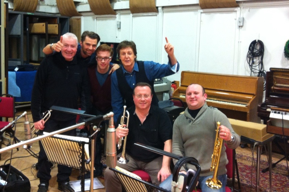 Paul McCartney Album Session