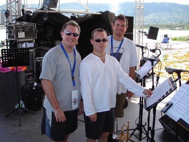 Danny Marsden, Craig & Darren Wiles - Thailand