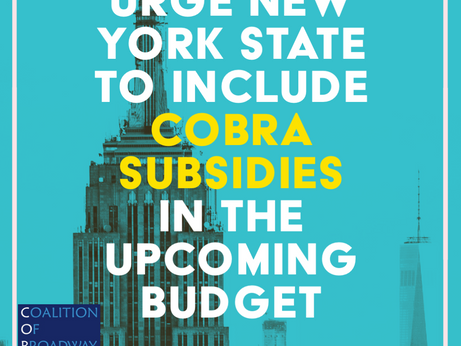 New York State COBRA Subsidy for Entertainment Workers