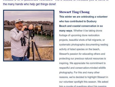 3 Years of volunteering with Duxbury Beach Reservation!