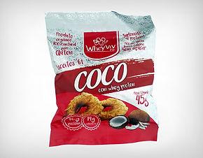 Preço de Atacado Cookie Biscoito Fit Coco com Whey Protein Isolado Hidrolisado - Whey Viv