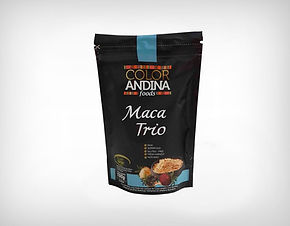 Revenda Trio de Maca Peruana (Amarela, Vermelha e Preta) 100g - Color Andina