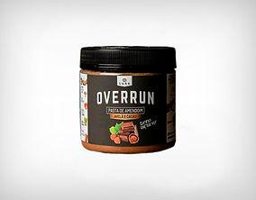 Distribuidor Pasta de Amendoim Avelã e Cacau 500g - Overrun - Luke