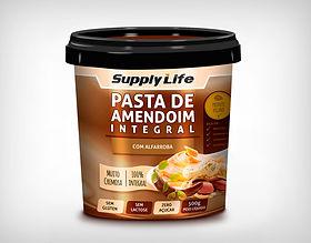Preço Atacado Pasta de Amendoim Integral com Alfarroba - Supply Life