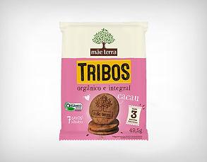 Distribuidor Biscoito Doce Tribos Cacau - 49,5g - Mãe Terra