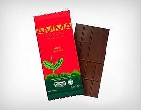 Fornecedor Chocolate Orgânico 60% Cacau 80g - Amma