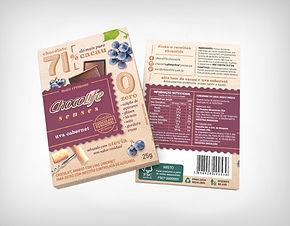 Preço de Atacado Chocolate Senses 71% Uva Cabernet - Chocolife