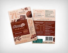 Preço de Atacado Chocolate Senses 71% Puro Cacau - Chocolife