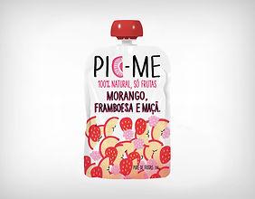 Preço Atacado PicMe - Morango, Framboesa e Maça