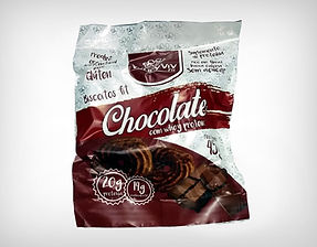 Preço de Atacado Cookie Biscoito Fit Chocolate com Whey Protein Isolado Hidrolisado - Whey Vivi