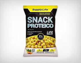 Preço Atacado Snack Proteico Assado 60g - Supply Life