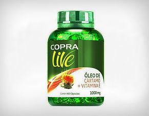 Preço de Atacado Óleo de Cártamo e Vitamina E Cápsulas Copra